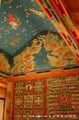 大根焚き : 赤外線カメラで会席され再現された有名な船底天井と壁画