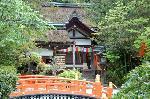 松尾祭 葵祭(賀茂祭) : 片岡社と玉橋