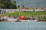 松尾祭  : 神輿の船積み