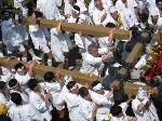 松尾祭  : 輿丁(よちょう/神輿舁き)