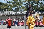 葵祭 : 勅使列中の最高位の近衛使(このえつかい)