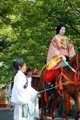 春祭 葵祭 : 騎女(むなのりおんな)