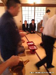 祇園祭 吉符入り