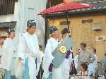 祇園祭 神宝奉持列 : 第一御楯