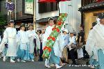 祇園祭 神宝奉持列 : 御琴