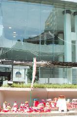 地蔵盆 : 華道池坊のお膝元の頂法寺に座る地蔵