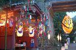 地蔵盆 : 愛宕古道街道灯