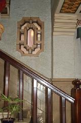 京都近代建築遺産 : 木製手摺の階段部分
