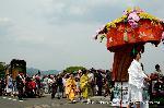 三船祭 春祭 : 花車・舟人・御所車