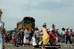 三船祭 春祭 : 牛車(御所車)