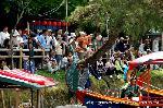 三船祭 春祭 : 龍頭船・鷁首船