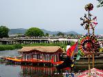 三船祭 春祭 : 御座船