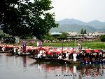 三船祭 春祭 : 今様船