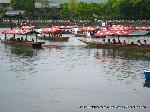 三船祭 春祭 : 船遊び