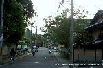 文化遺産 お土居 : 紙屋川にかかる桜橋の手前右に入ると・・・御土居