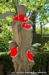 六斎念仏 地蔵盆 : 三界万霊碑