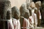 六斎念仏 地蔵盆 : 境内のいたるところにお地蔵さんが・・・