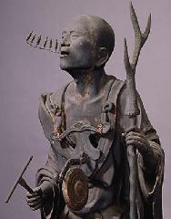 六斎念仏 : 踊り念仏の起源を象徴する空也上人立像