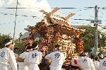還幸祭 ずいき祭 : ずいき神輿