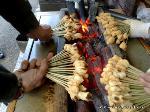 京都非公開文化財特別拝観 : あぶり餅