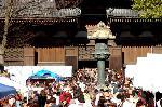 終い弘法  弘法さん 御影供 : 七百年余も続く弘法市