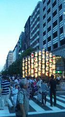 祇園祭  : 椿デザイン建築事務所 椿森 昌史さん ビルと鈴鹿山