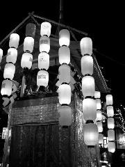 祇園祭 : 新風館に実に立派な鉾が建っていたことがあった。